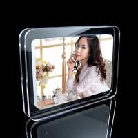 China Free Standing Magnetic Acrylic Photo Frames For Leaflets , Transparent wholesale