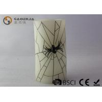 China Spider Shape Battery Operated Halloween Candles With Remote Control wholesale