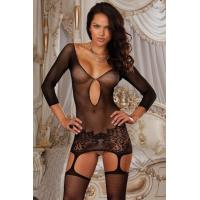 China Sexy Lingerie Wholesale Babydoll Lingerie Chemises Net Appeal Chemise Lingerie wholesale