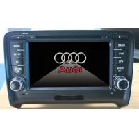 China Digital TV Audi Car DVD Player , A2DP Car Stereo With Blue Tooth wholesale