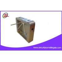 China Stainless Steel Access Tripod Turnstile Gate / turnstile security systems For Attendance wholesale