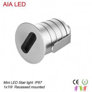 China Aluminum 1x3W interior waterproof IP67 mini LED spot light/LED step light for parks wholesale