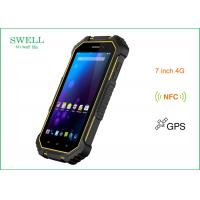 China 7inch NFC 4G Lte Rugged Handheld Computer Mtk6735 Quad Core CPU With Android 6.0os wholesale