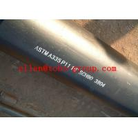 Buy cheap ASTM A335 P11 13CrMo44 15CrMo Alloy Steel Pipe 6m / 12m Length from wholesalers