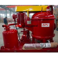 Quality Oil and gas drilling vacuum degasser for drilling fluid purfication for sale