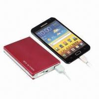 China Power Bank, New 5V/10,000mAh External Battery Charger for USB Port Devices wholesale