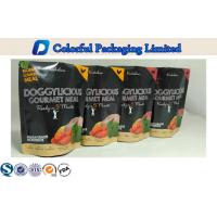 Quality CMYK More Waterproof  Tea Packaging With Stand Up Zipper Bag for sale