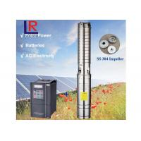 China 3inch AC220V DC220V Brushless high-speed solar water pump with permanent magnet synchronous motor for home and farm wholesale
