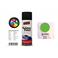 China Abrasion ResistanceRemovable Rubber Spray Paint  Head Light Green Color For Car Coating wholesale