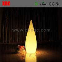 China Plastic Made Water Drop Shape Glowing Light For Living Room wholesale