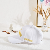 China 62cm Printed Baseball Caps With Flat Embroidery Logo wholesale