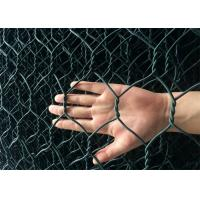 China Foldable Green Colour Reno Gabion PVC Coated Wire Mesh Mattress Bunlde Packing wholesale
