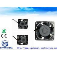 China Low Noise 60mm Small Explosion Proof Exhaust Fan 220CV / 240V Ac Fridge Cooling Fan wholesale