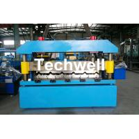 China Automatical Steel Roof Wall Panel Roll Forming Machine With 13 - 20 Forming Station wholesale