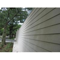 China Wood Look Fiber Cement Panel Siding Modern Building Material For Wall Decoration wholesale
