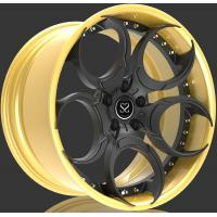 China 2 piece A6061 T6 aluminum alloy forged wheel blank for Lamborghini wholesale
