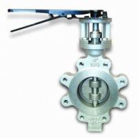 Quality 60 Inch Stainless Steel Butterfly Valve BS 5155 Metal Seated Butterfly Valves for sale