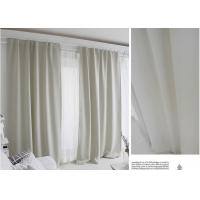 China 100% Polyester Blending Modern Window Curtains Multiple Colors Lightweight Fabric wholesale