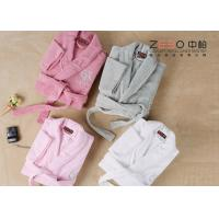 China Professional Hotel Style Dressing Gowns , Womens Spa Robes Easy Wash wholesale