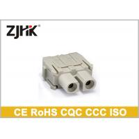 China Harting Modular Heavy Duty Electrical Connector 40A Axial Screw HMK - 002 on sale