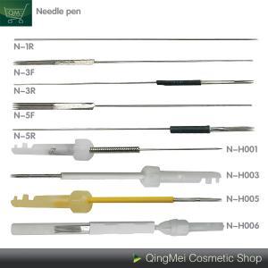 China Lip / Eyebrow / Eyeliner Tattoo Machine Needle , Precision Sterile Tattoo Needles on sale