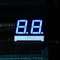 China 0.56 inch dual-digit 7 segment numeric LED display, red/blue for home appliances wholesale