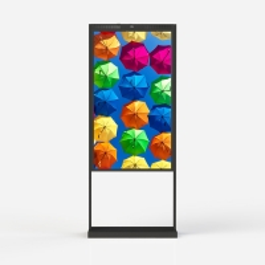 China 55 Inch Window Advertising Display Window Facing 3000 Nits Lcd Digital Signage wholesale