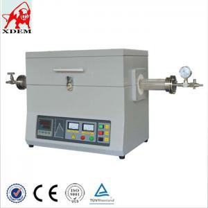 China Horizontal Quartz Tube 1200C Degree High Temperature Furnace wholesale