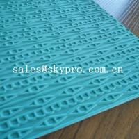 Buy cheap Customized eva+ rubber foam sheet for sole soft  with 3D pattern from wholesalers