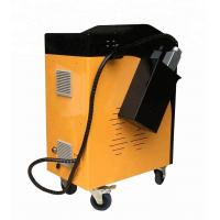 China Overseas service provided handheld 120w fiber pulsed laser cleaning machine for rust removal wholesale