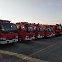 China Reescue Water Tower Fire Fighting Truck on sale