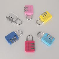 China Colorful Resettable Combination Padlock 3 Digit Password Suicase Padlock wholesale