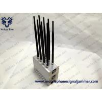 China Built-in Cooling Fan Mobile phone Jammer High Power GPS LoJack 3G Cell Phone Blocker wholesale
