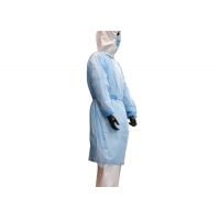China Light Weight Doctor SMMS Disposable Surgical Gown wholesale