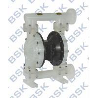 China 135L/Min Plastic Diaphragm Pump High Pressure 8.3bar With Flap Valves wholesale