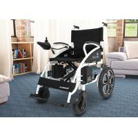 China Shock Absorbing Electric Folding Wheelchair For Travelling / Home / Hospital wholesale