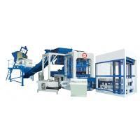 Quality Fully Automatic Concrete Block Making Machine for Concrete / Cement Raw Material for sale