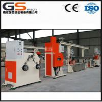 China Orange color Plastic filament extruder machine for 50 kg/h 3D printer ABS PLA wholesale