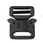 China Cobra buckles Metal Belt Buckle 27mm Black Color For Tactical Belt wholesale