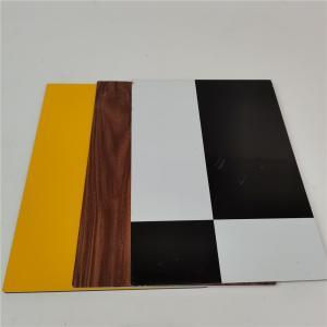China Anti - Corrosion Wood Grain Aluminum Composite Panel For Outdoor Decoration wholesale