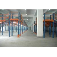 Quality Logistic warehouse Mezzanine racking system Multi - tier Steel platform weight capacity for sale