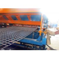China Automatic Electric Steel Welded Wire Mesh Machine For Roll Fence 1-3m Width on sale