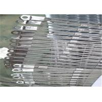 Buy cheap Knotted Stainless Steel Ferrule Mesh , SS 304 / 316 Woven Wire Mesh Fencing from wholesalers
