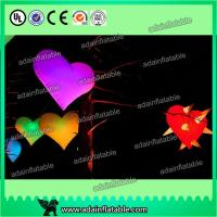 China led giant inflatable heart for decoration,Event Party Hanging Decoration Inflatable wholesale