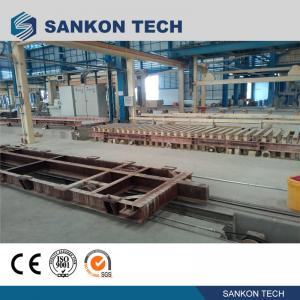 China SANKON W600mm Ferry Cart AAC Machine Overturn Table wholesale