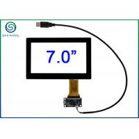China 7 USB Interface Multi Touch Panel Glass With Projected Capacitive Technology PCT wholesale