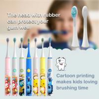 China Waterproof Kids Electric Toothbrush , Usb Charging Baby Electric Toothbrush wholesale