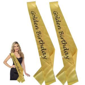 China Yellow / Black Custom Award Ribbons Smooth Surface Hot Stamping Printing wholesale