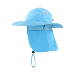 China Hiking Neck Cover 55cm Fisherman Bucket Hat Digital Printed wholesale
