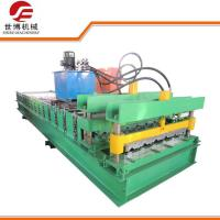 China Galvanized Iron Roof Glazed Tile Making Machine 960 Model For Building Material wholesale